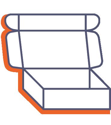 Poštové krabice online tlač