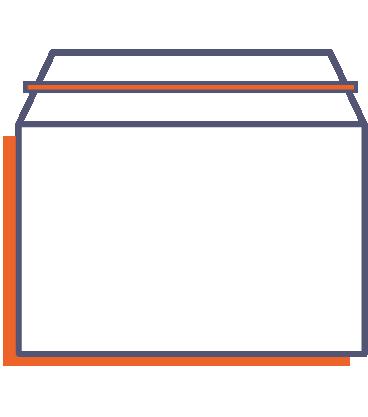 Zásielkové obálky online tlač