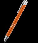 Kovové guličkové pero s chrómovanými prvkami online tlač