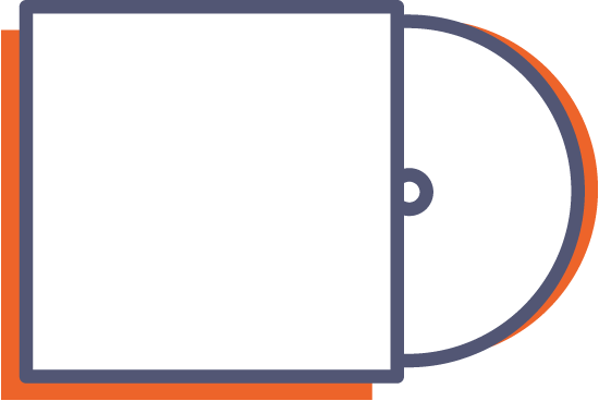 Obal na CD s jednou chlopňou online tlač