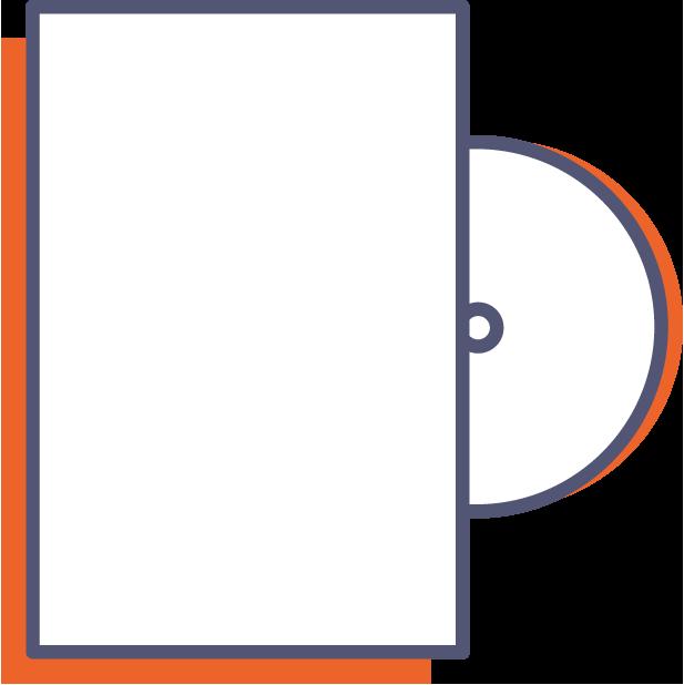 Obal na DVD online tlač